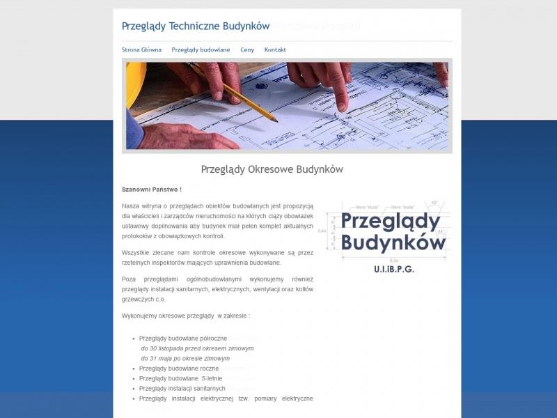 Przeglądy Budowlane Warszawa