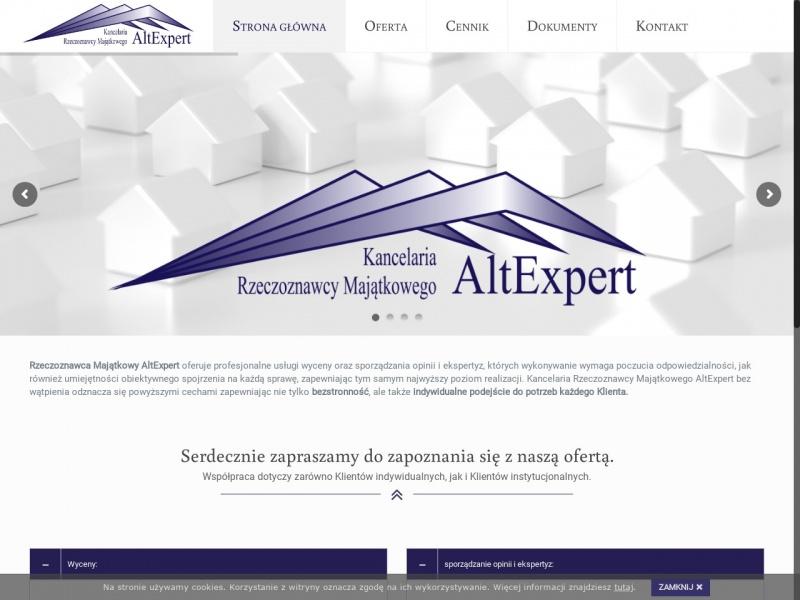AltExpert Kancelaria Rzeczoznawcy Majątkowego