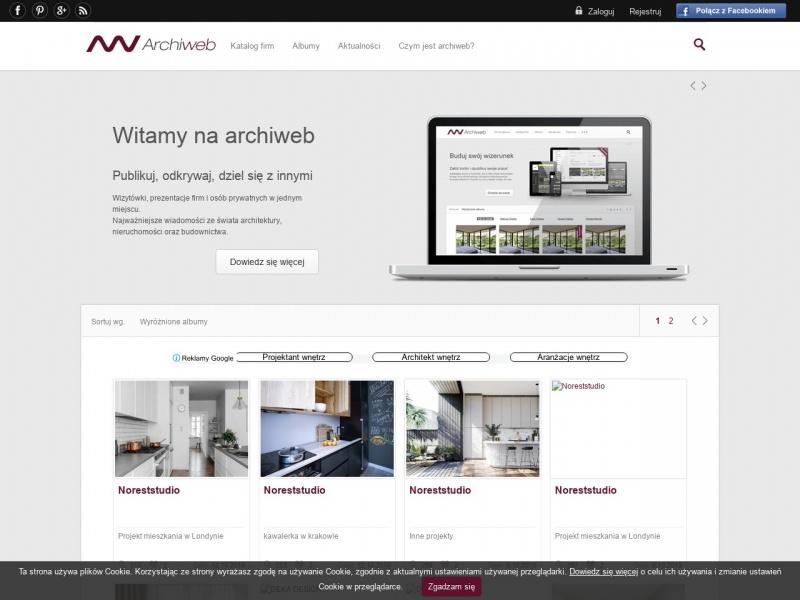 Portal architektoniczny - Archiweb.pl
