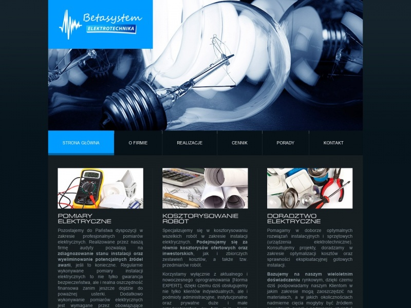 BetaSystem Usługi Elektryczne Olsztyn