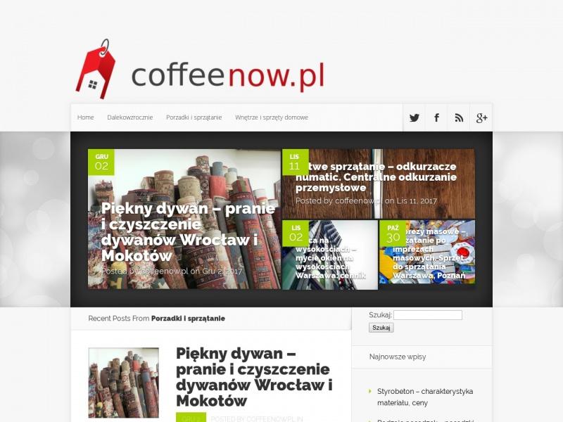 COFFEENOW Szczepan Wieczorek
