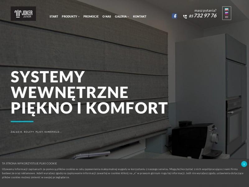 Markizy - jokerjunior.pl