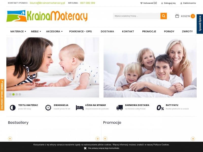 Materacje dla dzieci KrainaMateracy.pl