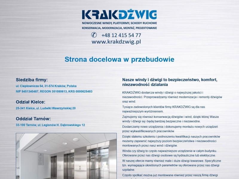 Krakdzwig Sp. z o.o. Sp. k.