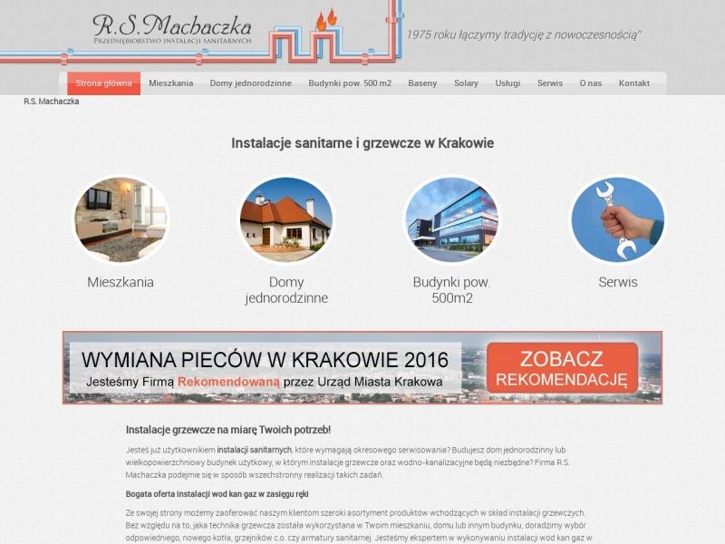 Przedsiębiorstwo Instalacji Sanitarnych R.S Machaczka