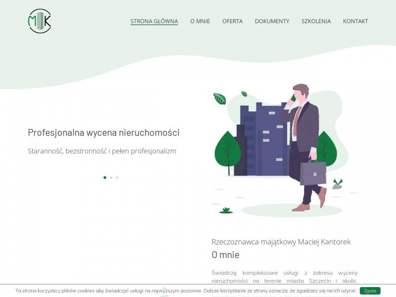 Rzeczoznawca majątkowy Maciej Kantorek