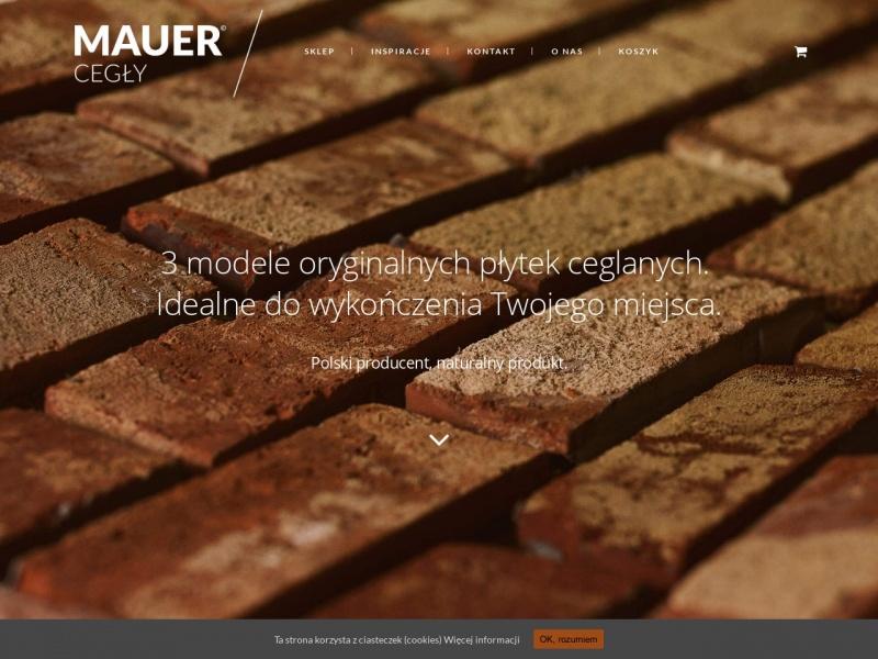 Cegła dekoracyjna - Mauer
