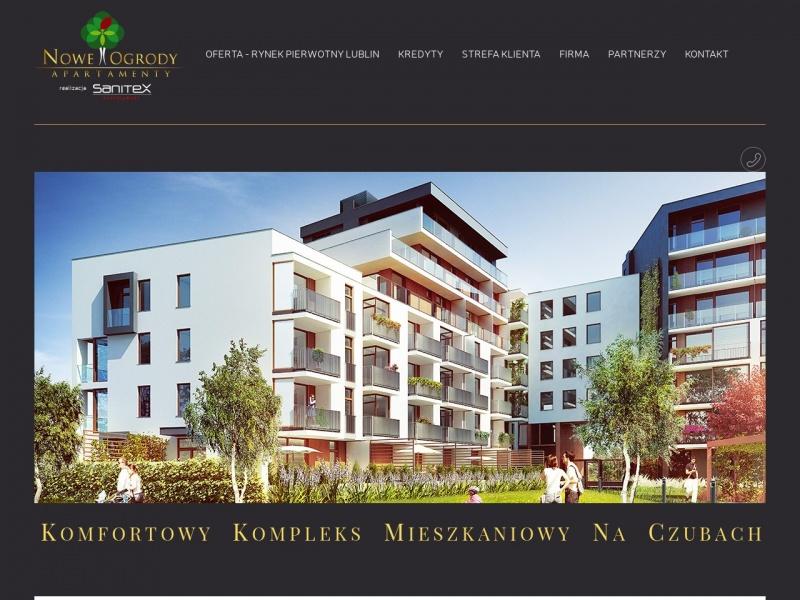 Mieszkania Nowe Ogrody w Lublinie