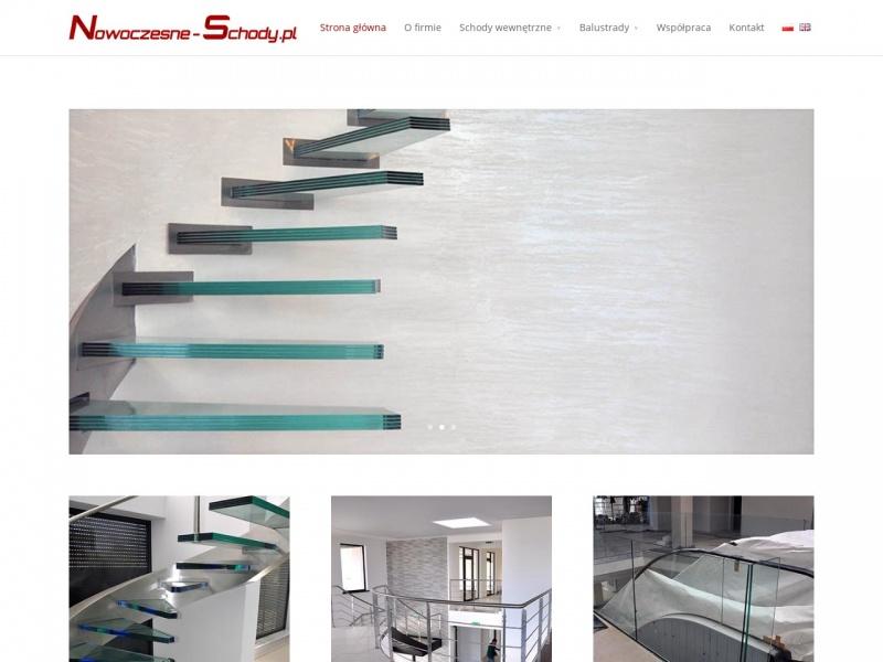 Nowoczesne schody półkowe