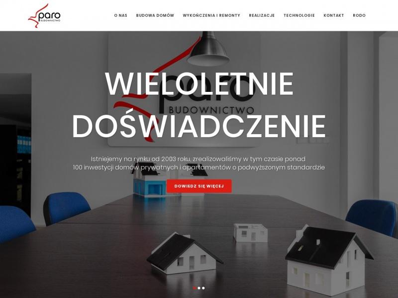 Paro.pl - budowa domów Kraków