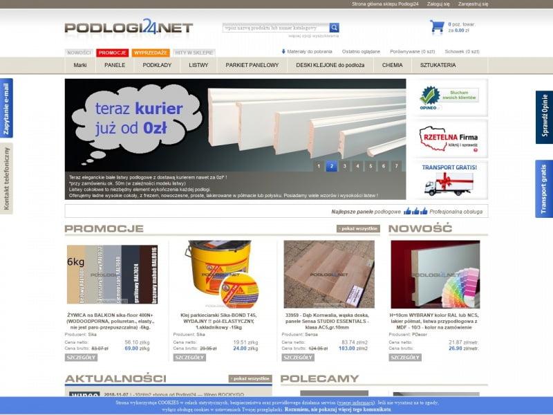 Najlepsze panele podłogowe - sklep Podlogi24.net