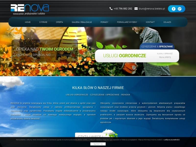 Usługi Ogrodnicze Renova - Bielsko