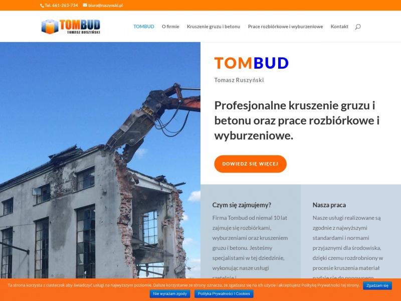 PHU TomBud - Tomasz Ruszyński