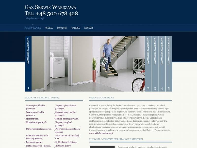 Naprawa kuchenek gazowych Warszawa
