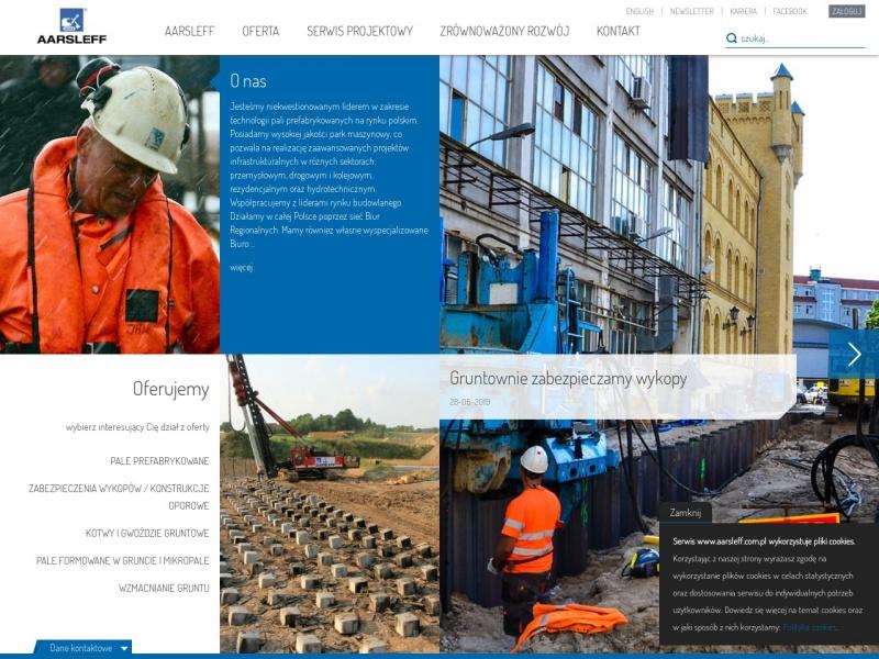AARSLEFF sp. z o.o. roboty budowlane