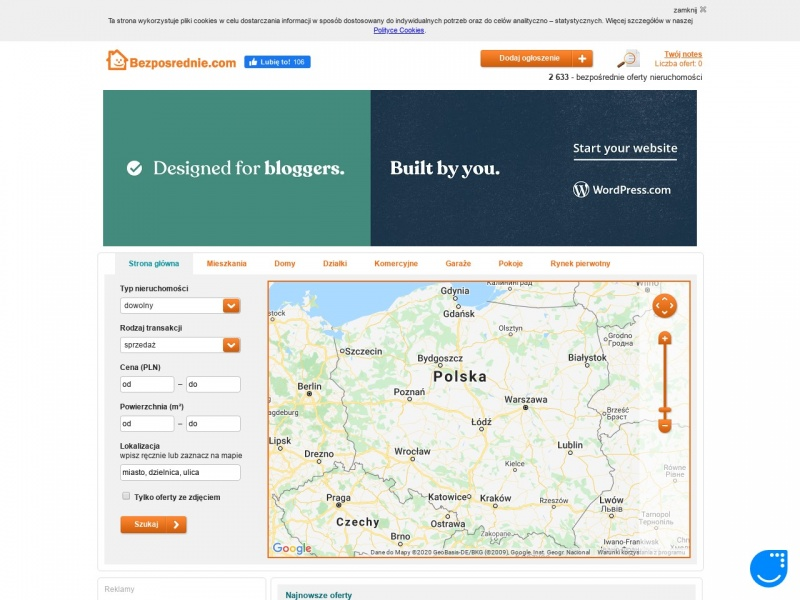 Wynajem mieszkań Poznań