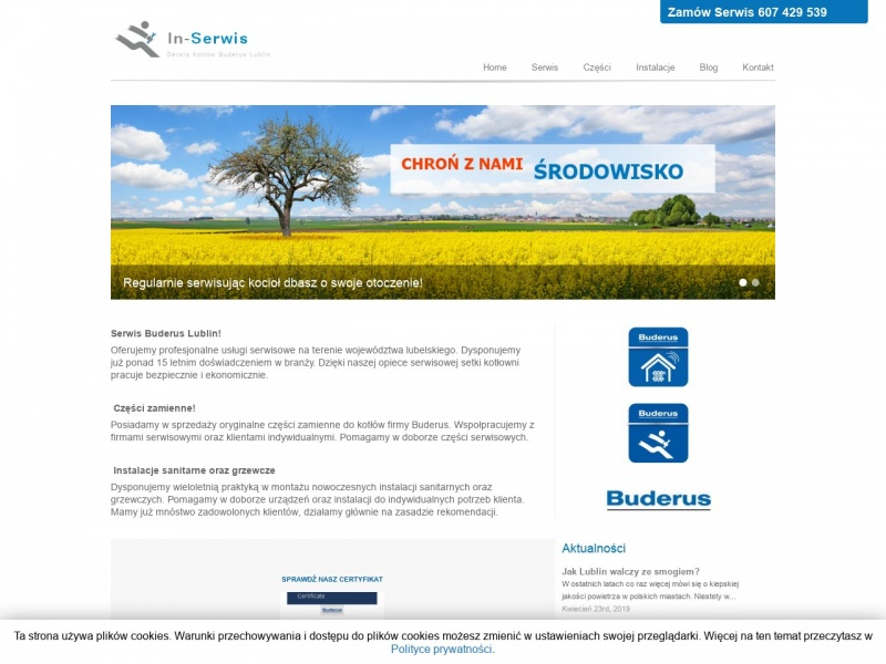 Buderus In-Serwis