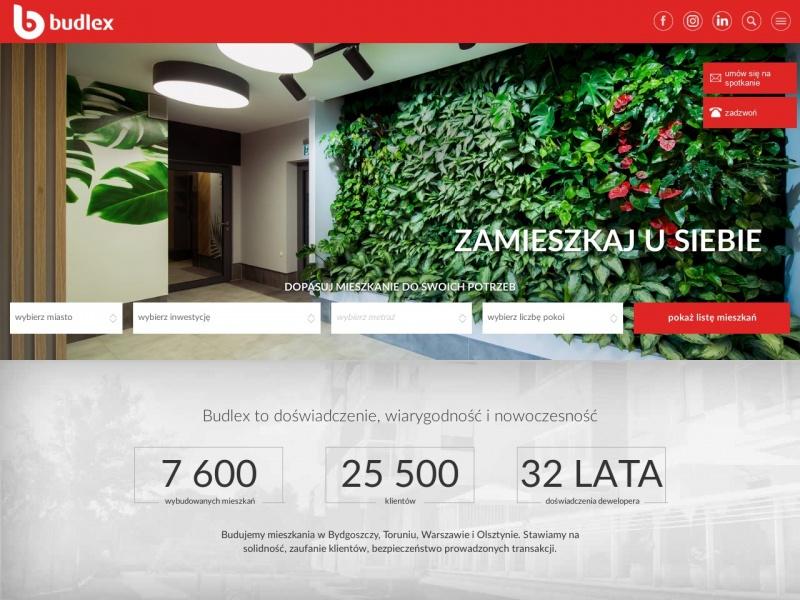 Budlex S.A. - Nowe Mieszkania