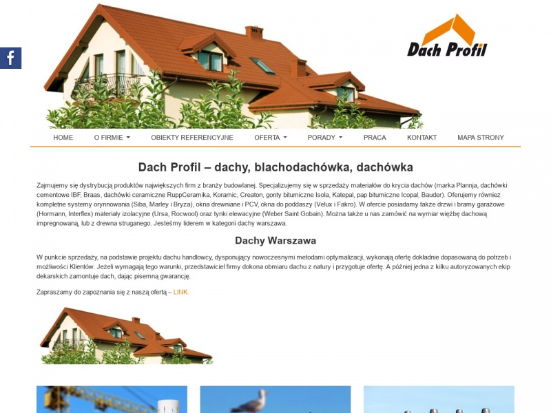 Blachodachówka Warszawa – dachprofil.com.pl