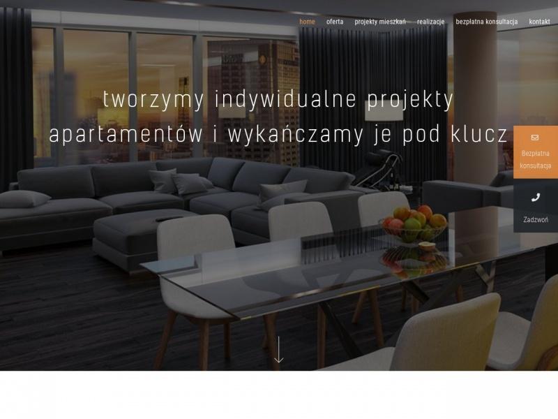 Aranżacje mieszkań - www.deconova.pl