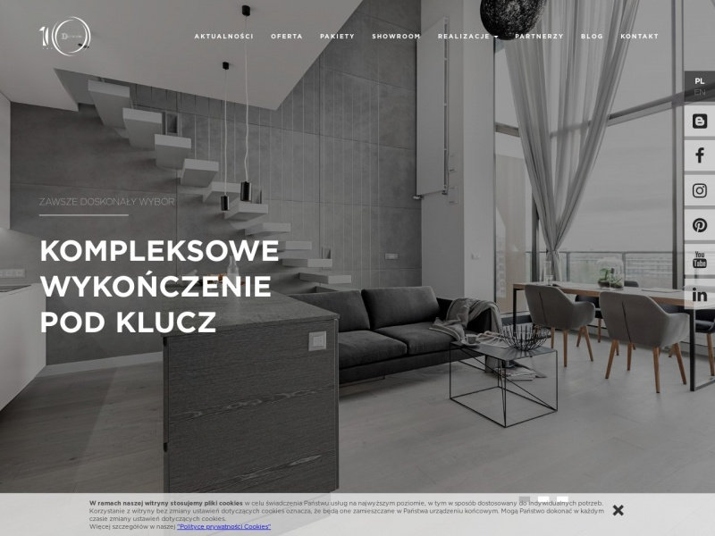 Decoroom – Projekty wnętrz Warszawa
