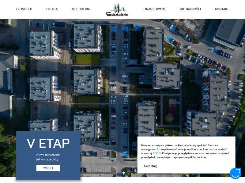 mieszkania Katowice - Osiedle Franciszkańskie