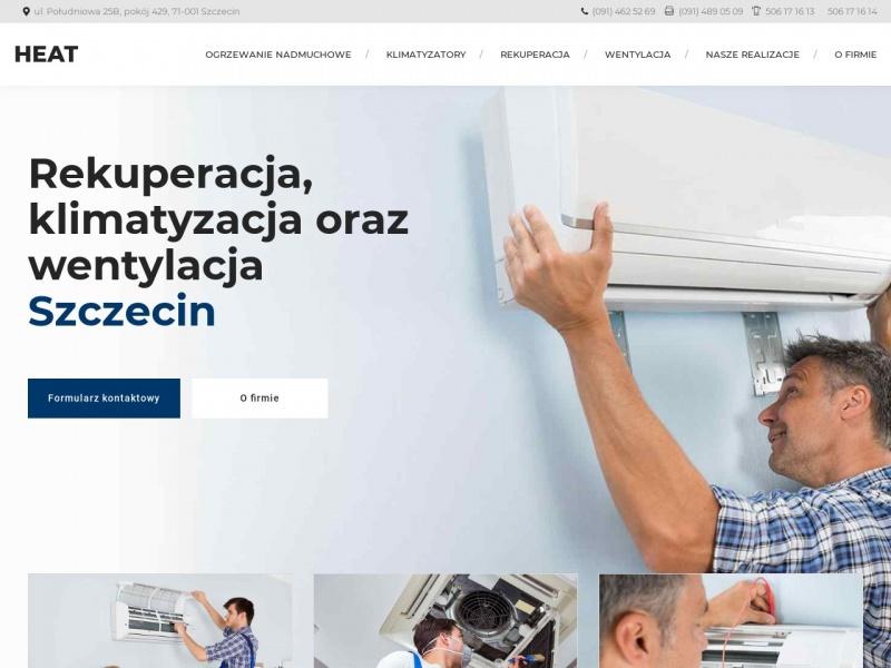 Ogrzewanie nadmuchowe - Heatszczecin.pl