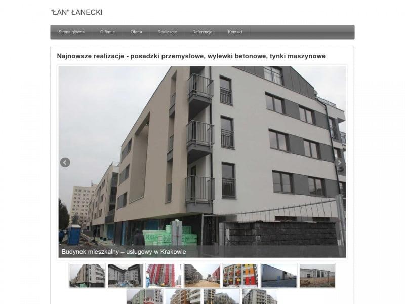 Usługi murarskie - www.lanecki.pl