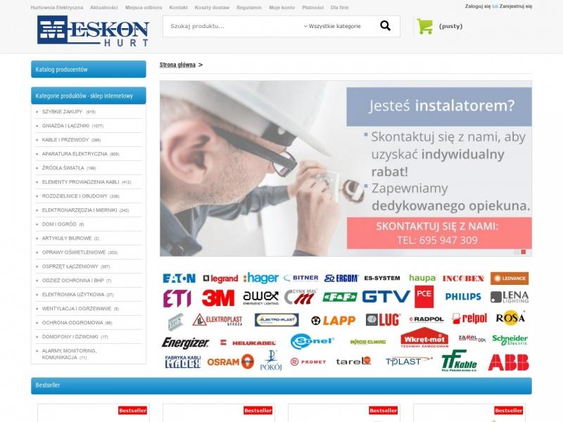 hurtownia elektryczna-www.meskon.pl