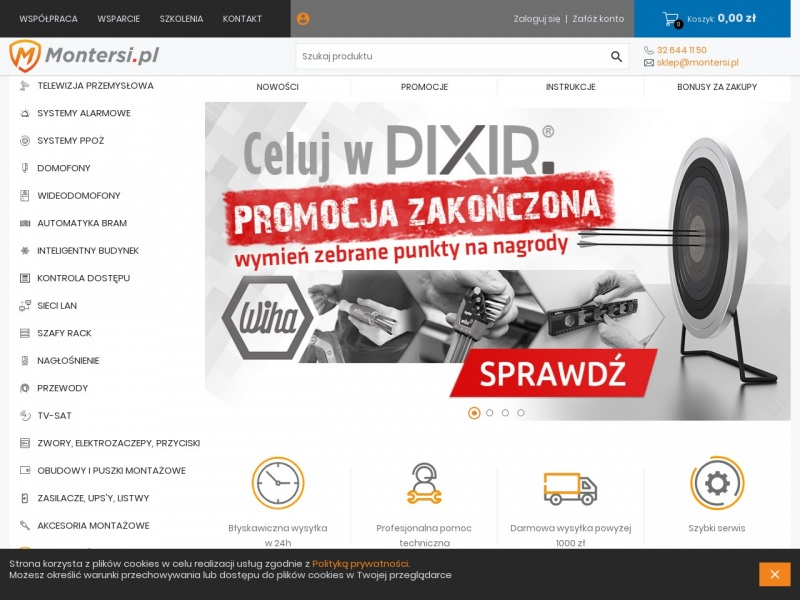 www.montersi.pl - monitoring hd-cvi