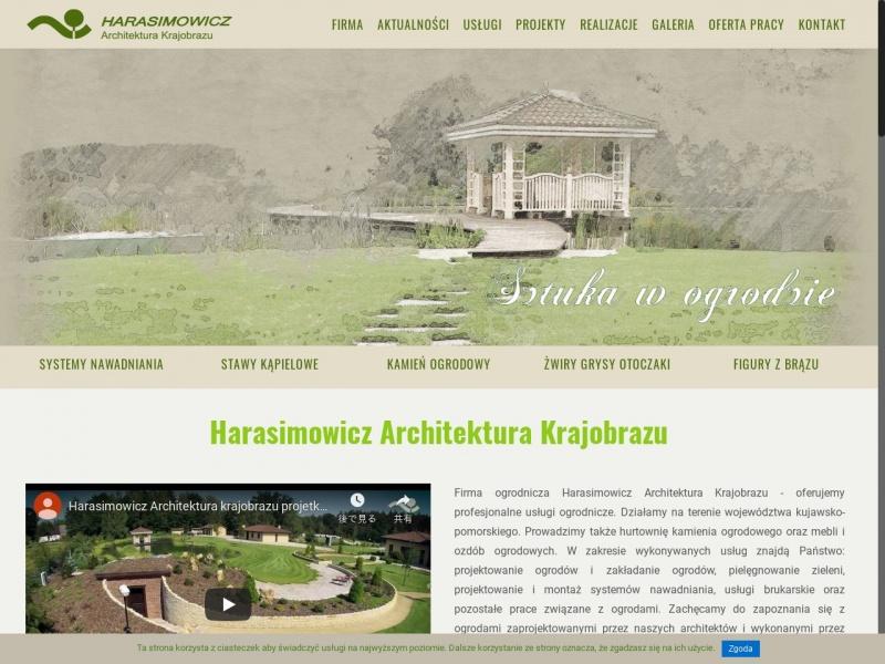 Ogrody Harasimowicz Architektura Krajobrazu