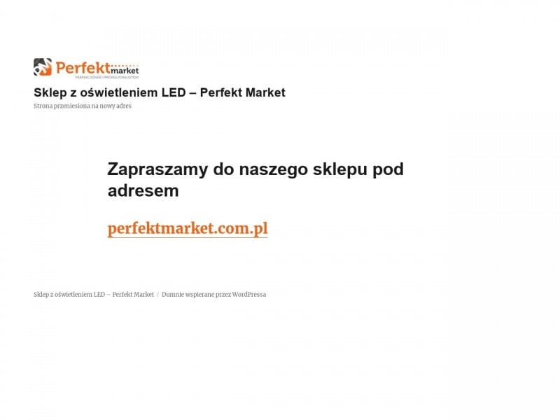Zamontuj oświetlenie LED z Perfekt Marketem!