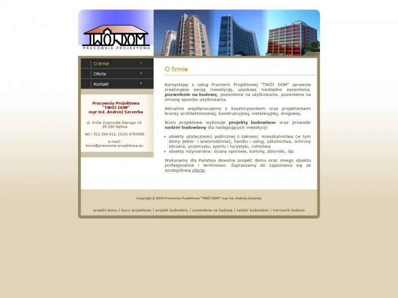 Projekty budowlane i nadzory na terenie Dębicy