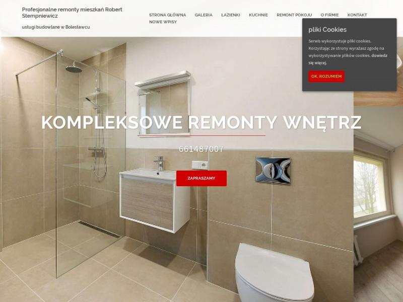 Profesjonalne remonty mieszkań Bolesławiec