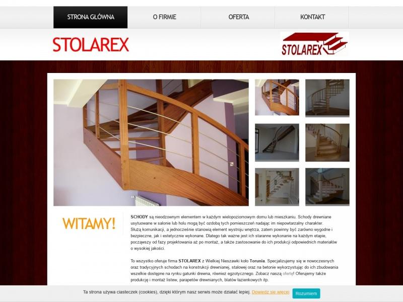 Stolarex - schody drewniane - Toruń
