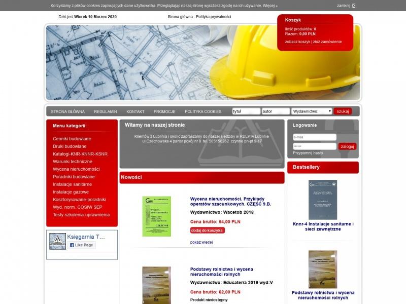 Dzienniki budowy Gepbud-Lublin(byłe wydawnictwo Gepro)