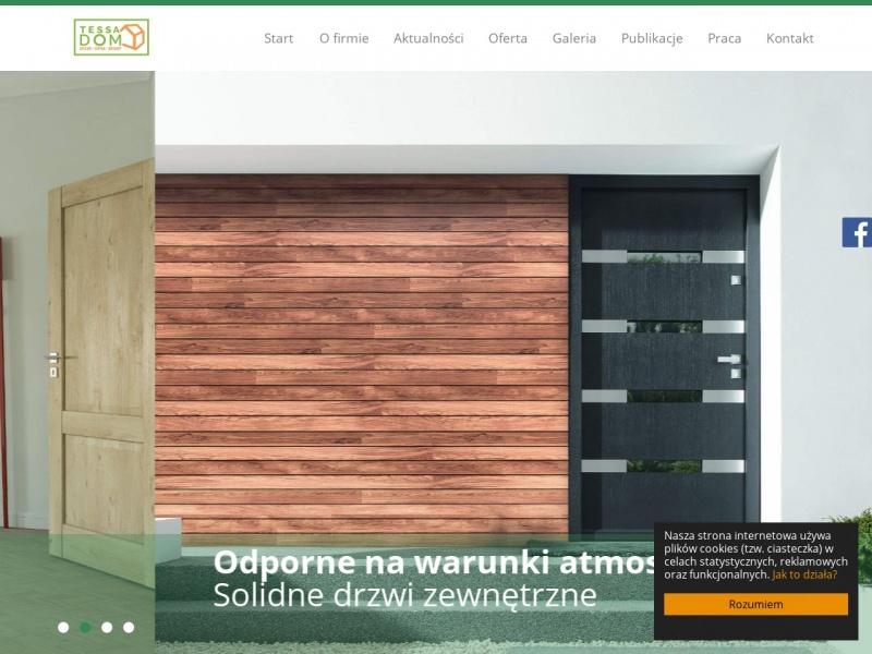 Drzwi Bydgoszcz – Tessa – tu kupisz nowe!