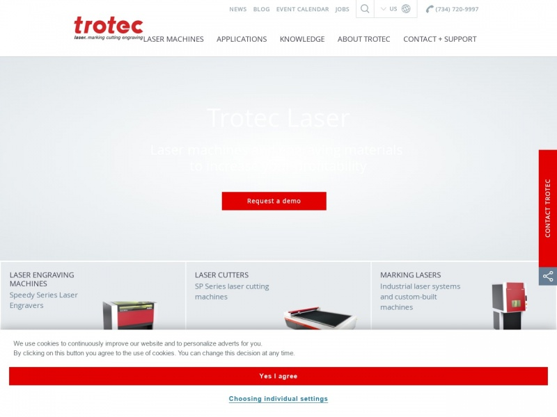 Dokładne grawerowanie laserem - Troteclaser.com